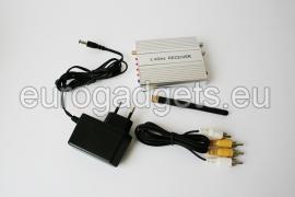 Wireless camera 2.4 GHz with receiver kit