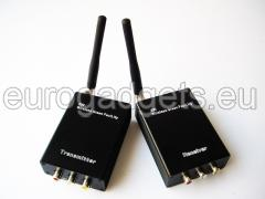 Powerful wireless AV signals transmitter and receiver 2W