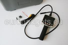 Camera in metal flexible tube
