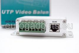 Four channel video balun - U204