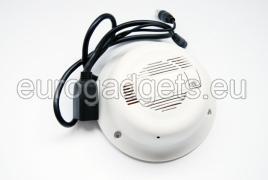 Wireless IP camera hidden in smoke detector