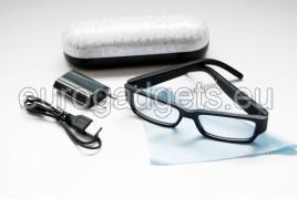 Bluetooth micro headset receiver in glasses